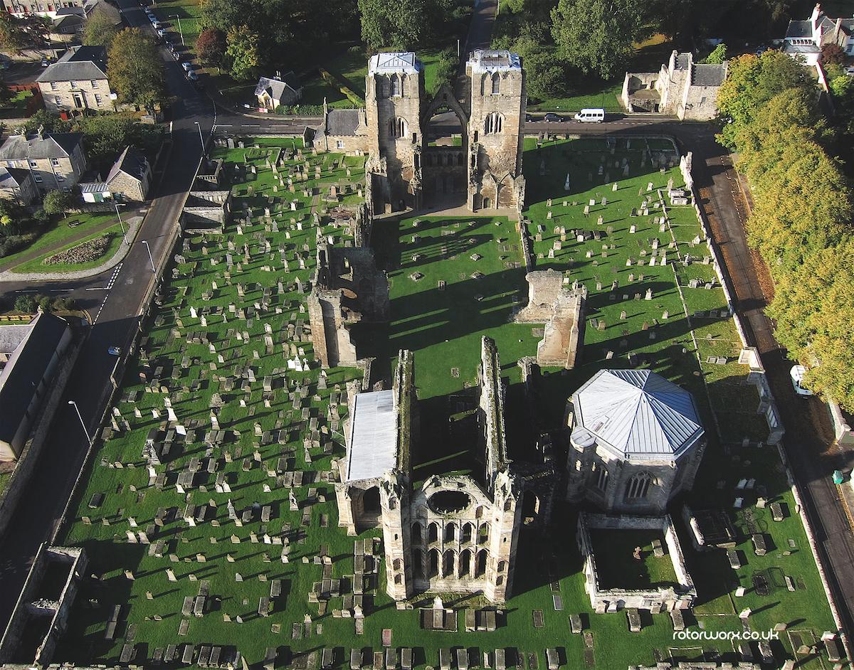 aerial photography moray
