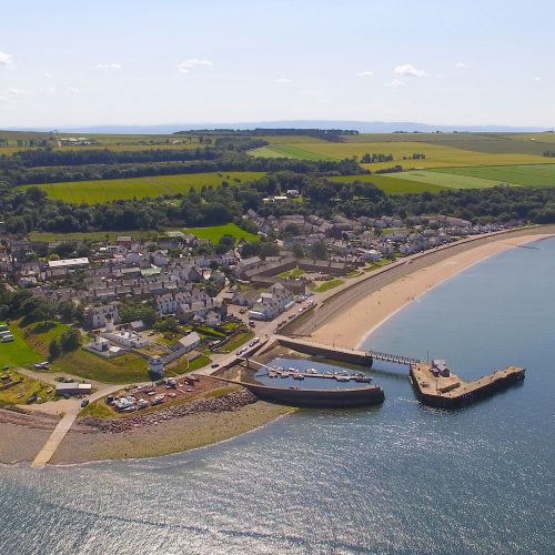 aerial photography cromarty firth
