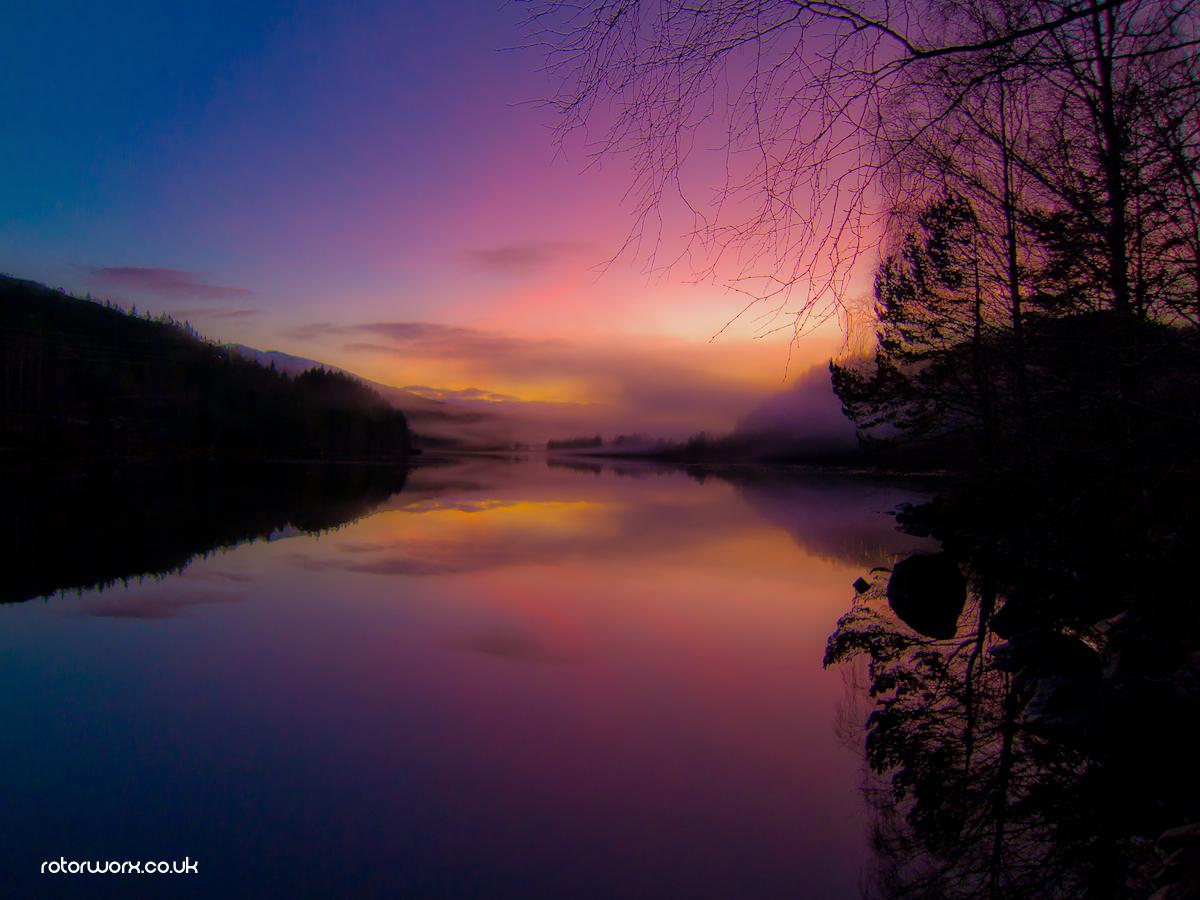 dundreggan Reservoir Invermoriston
