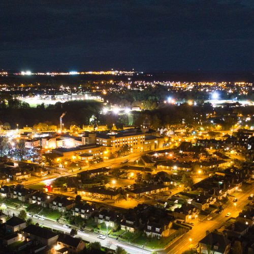 aerial photography elgin
